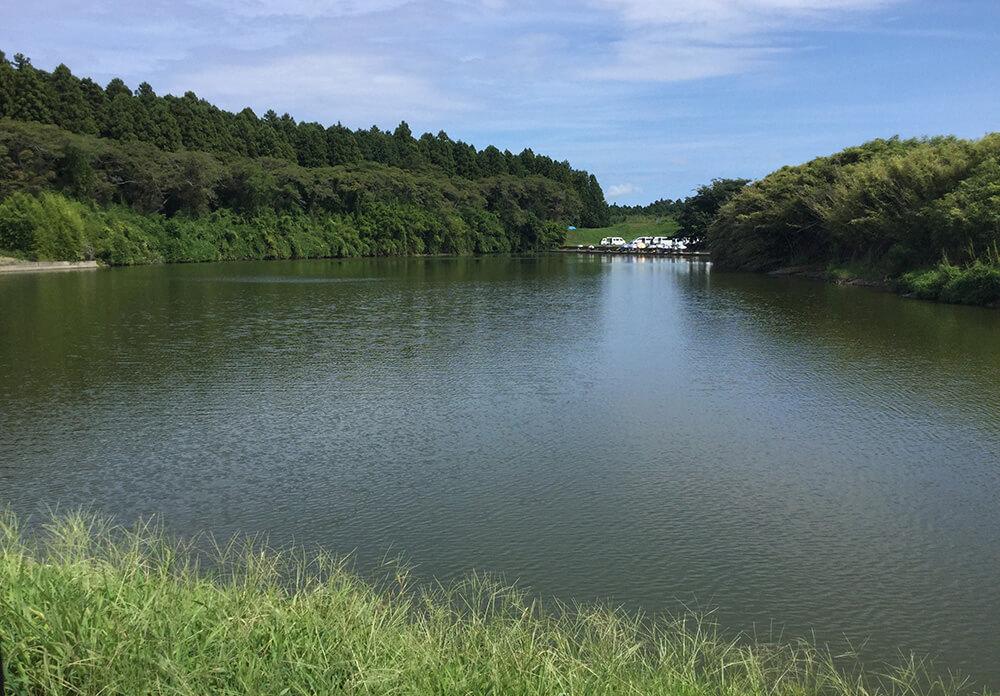 粟原釣り場